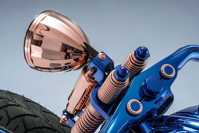 Harley Davidson Blue Edition - самый дорогой мотоцикл в мире от Bucherer AG