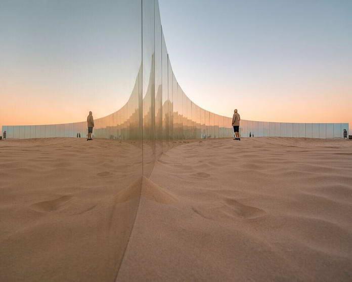 Необитаемый остров на пляже Коттесло в Западной Австралии