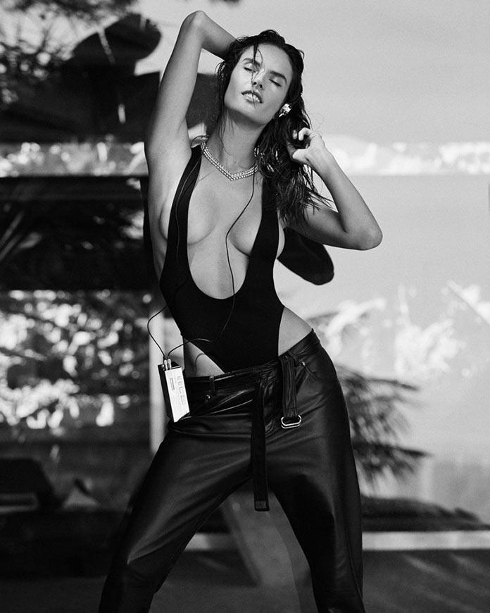 Alessandra Ambrosio sexy photoshoot