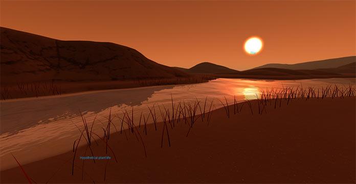 Виртуальный тур на экзопланету Kepler-186f