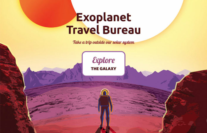 Исследуй галактику в виртуальном туре NASA