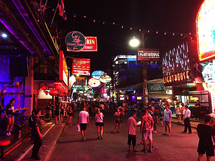 Walking Street, Паттайя, Таиланд