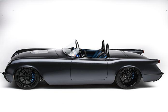 «Звезда смерти» Corvette Convertible 1954 года отмастерской Timeless Kustoms