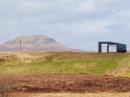 Black H House на острове Скай в северной Шотландии