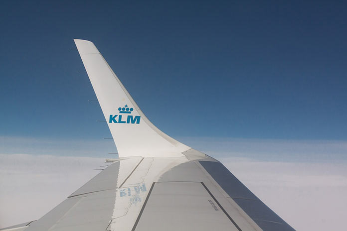 KLM wing