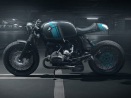 Elemental BMW R80 Project 4 Motorcycle