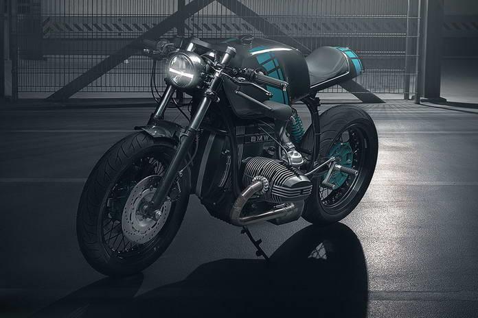 Кастомный мотоцикл Elemental BMW R80 Project 4