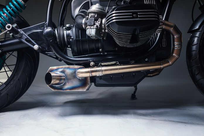 Кастомный мотоцикл Elemental BMW R80 Project 4 Motorcycle