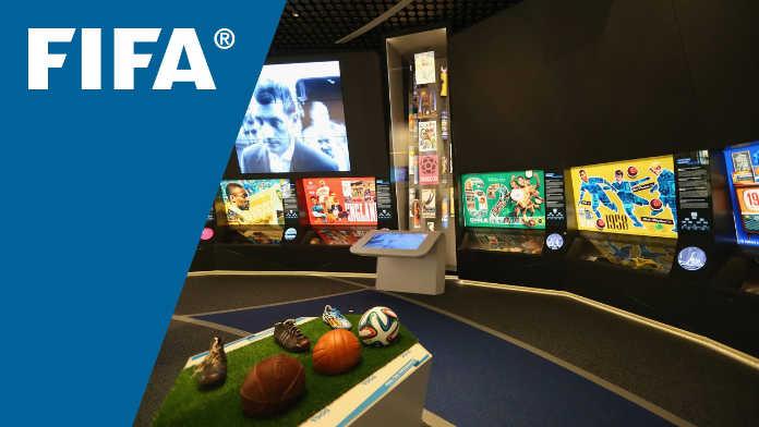 В Москву привезли экспозицию Музея FIFA