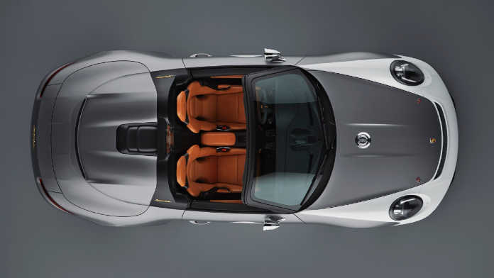 Концепт спорткара Porsche 911 Speedster 2018 г