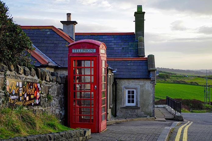 Ирландия, деревенский пейзаж