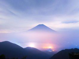 Гора Фудзи на рассвете, завораживающее фото Такаши Наказавы