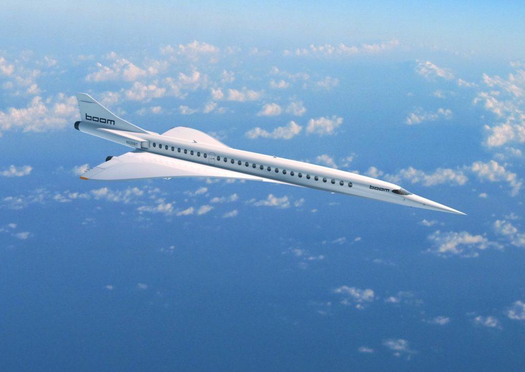 Boom - supersonic Jet