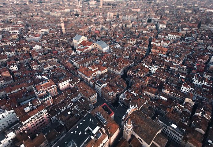 Венеция фото с высоты. Италия