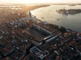 Венеция с высоты фото. Италия