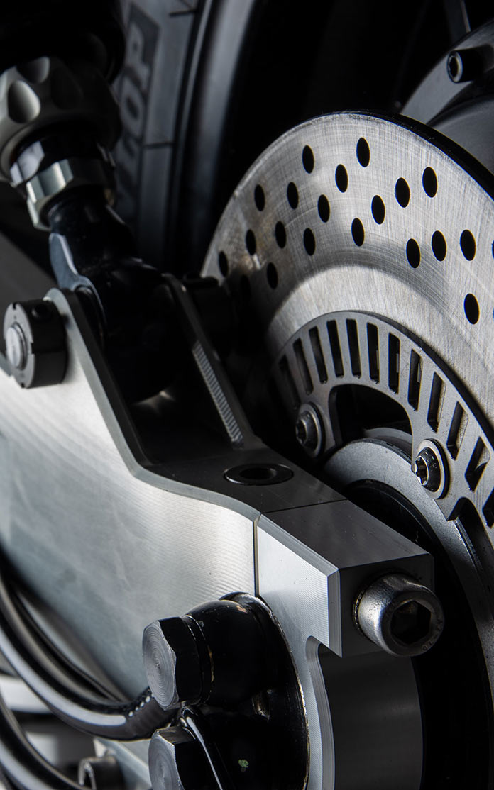 Ethec - электрический мотоцикл