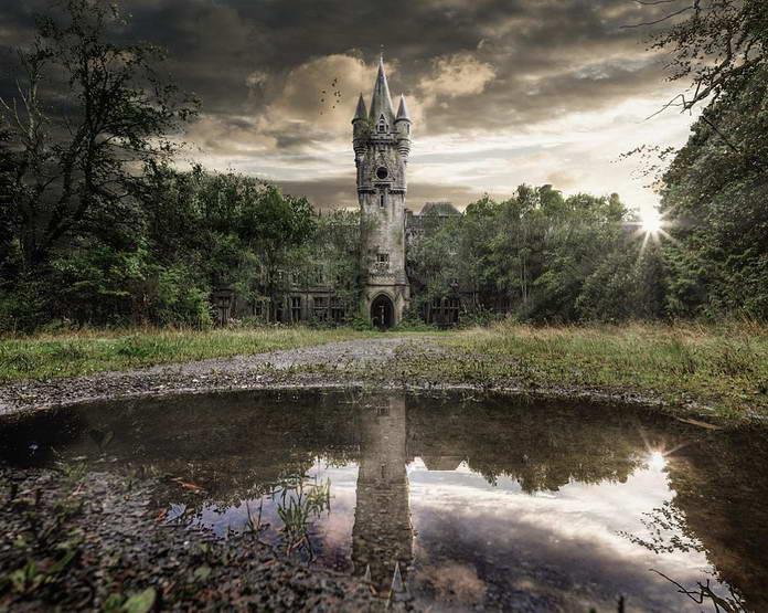 Заброшенный замок в Германии
