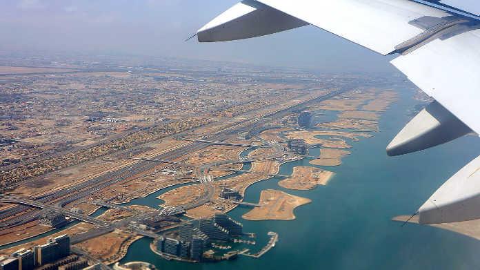 Полет над Абу-Даби