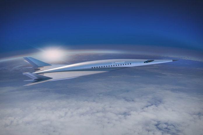 Гиперзвуковой самолет Боинг, концепт / Boeing Hypersonic Vehicle Concept