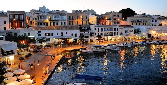 Испания, побережье, лодки