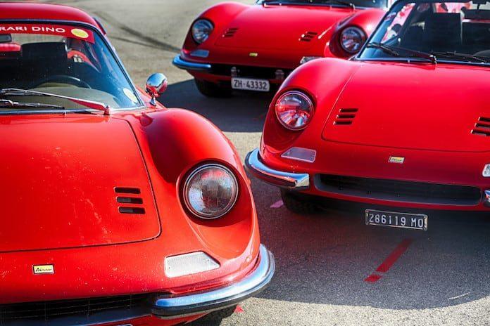 Ferrari Dino 50-летие модели
