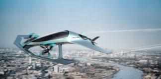 Концепт летательного аппарата Aston Martin Volante Vision Concept