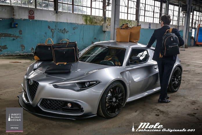 Сумки Tramontano в комплекте с Alfa Romeo Mole 001 Coupe