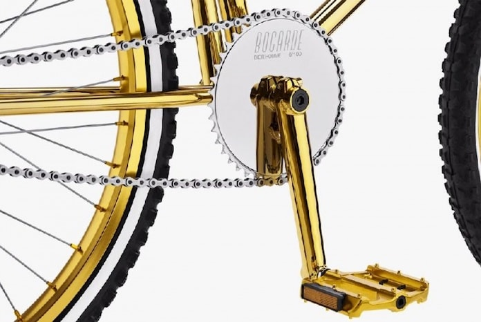 Золотой велосипед Bogarde BMX x Dior Homme