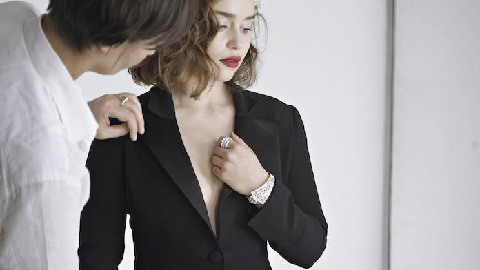 Эмилия Кларк в рекламной кампании ювелирных украшений Dior