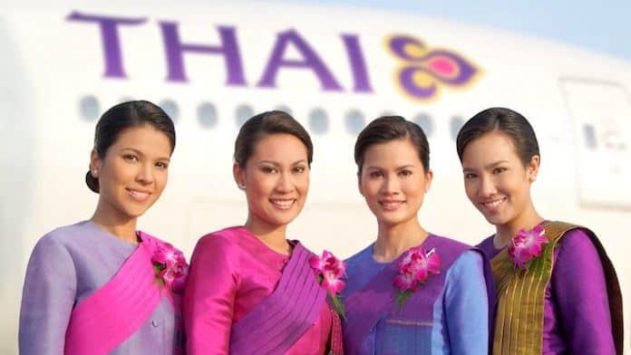 Бортпроводники Thai Airways