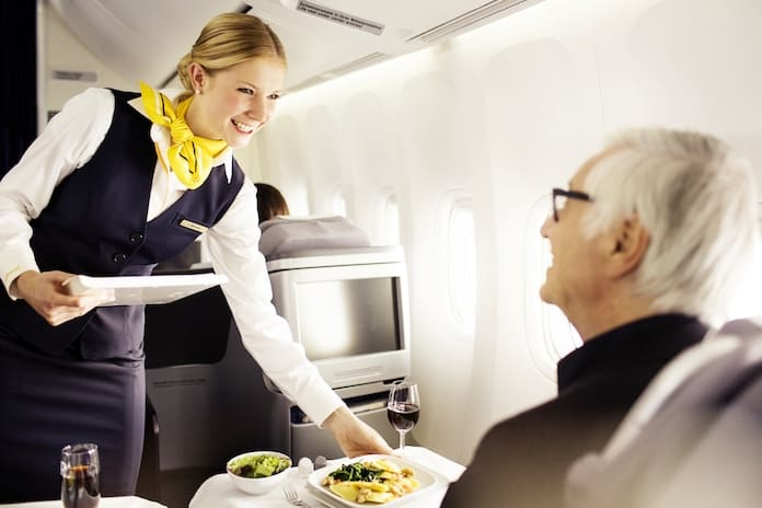 Бизнес-класс Lufthansa