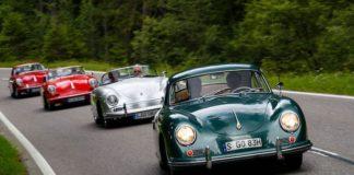 Porsche 356 на автопробеге по швейцарской провинции