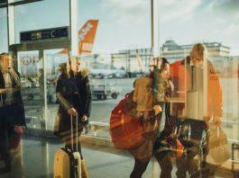 Аэропорт, путешественники