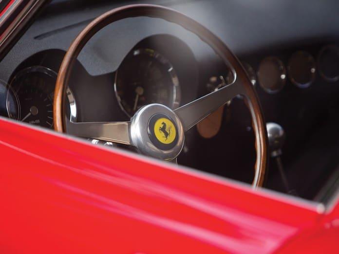 Детали салона Ferrari 250 GT WB 1960 года