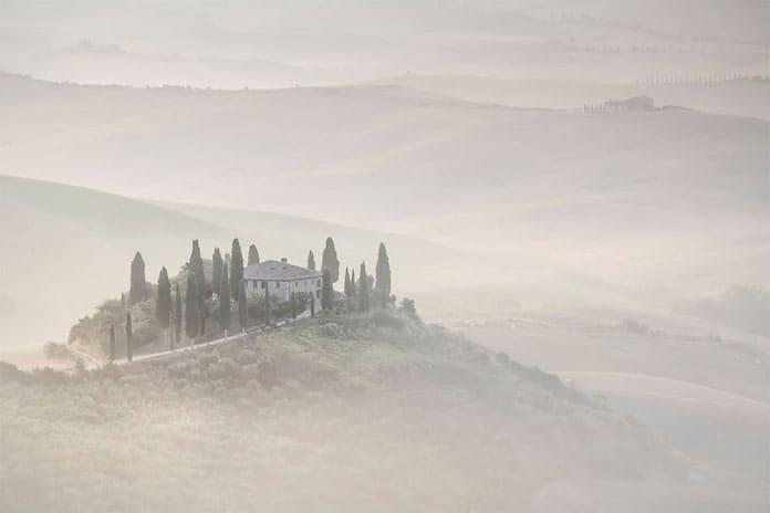 Рассвет над провинцией Тоскана. Победители конкурса трэвел-фотографии среди читателей The Guardian