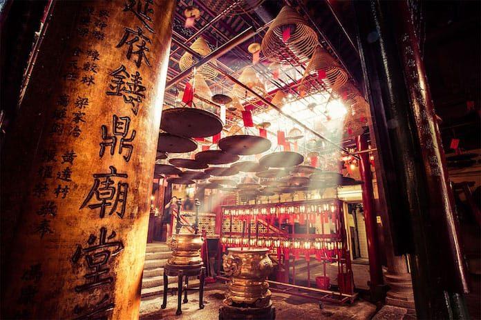 Храм Ман Мо, Гонконг. Победители конкурса трэвел-фотографии среди читателей The Guardian