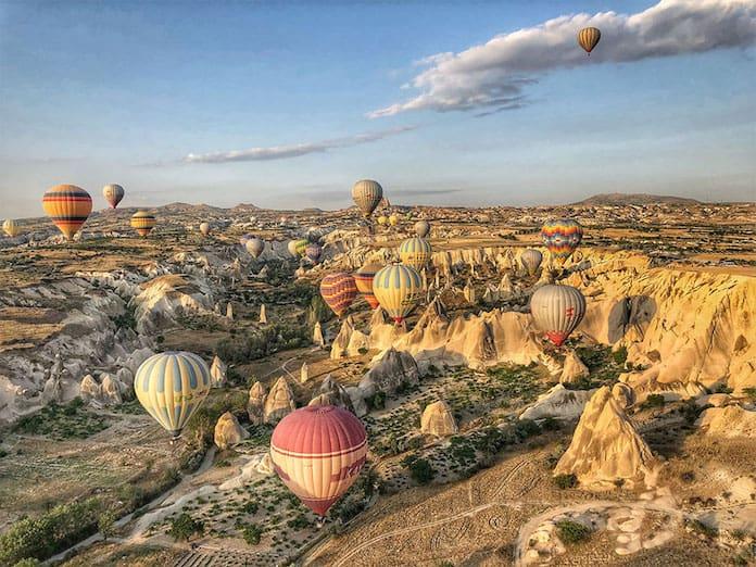 Воздушные шары над Каппадокией, Турция. Победители конкурса трэвел-фотографии среди читателей The Guardian