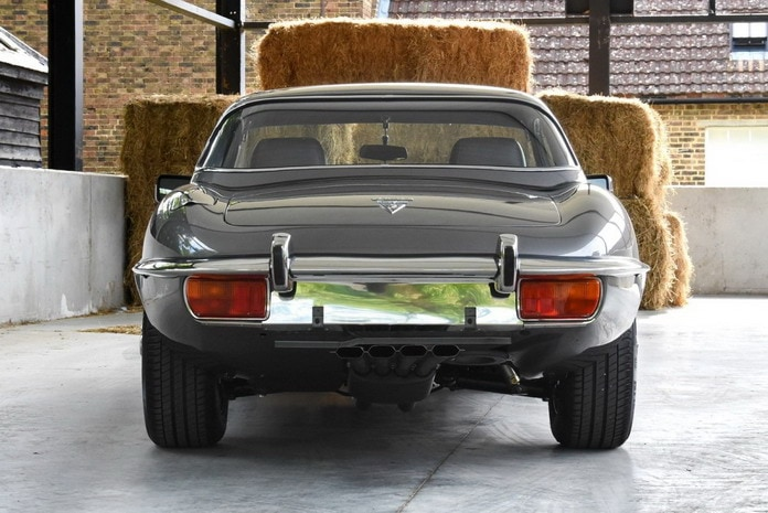 Восстановленны Jaguar E-Type Series 3 1973 года