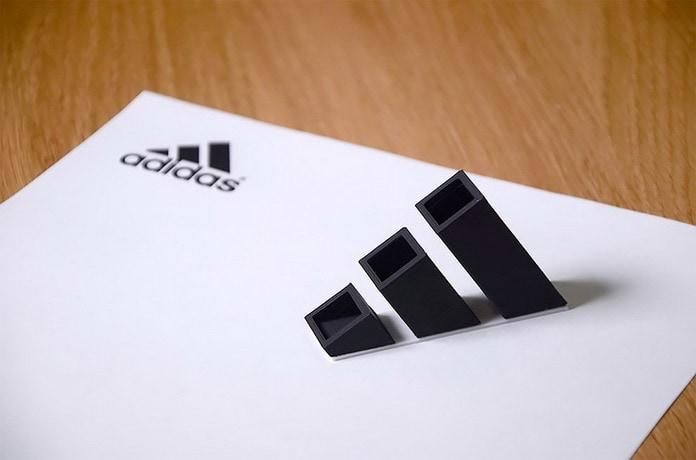 Adidas. Дизайнер превращает логотипы именитых брендов в полезные вещи