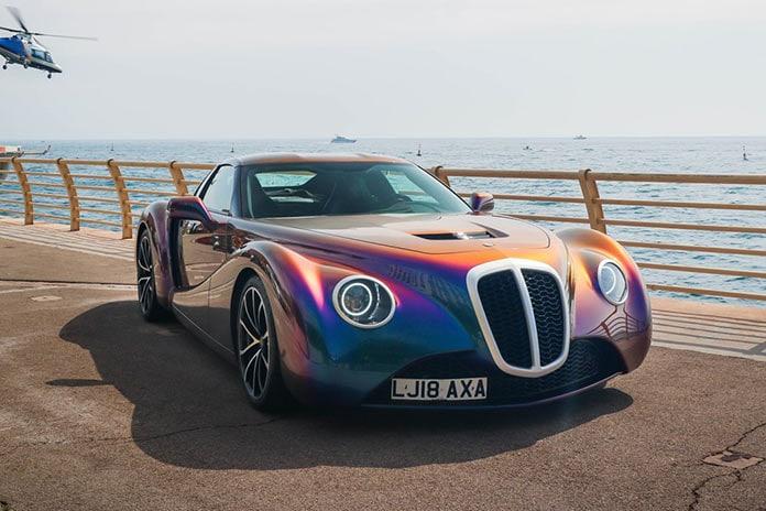 Zeclat - vintage-inspired Coupe