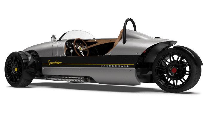 Vanderhall Venice Speedster вид сбоку