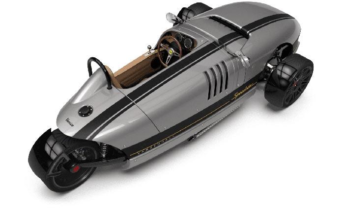 Vanderhall Venice Speedster вид сверху