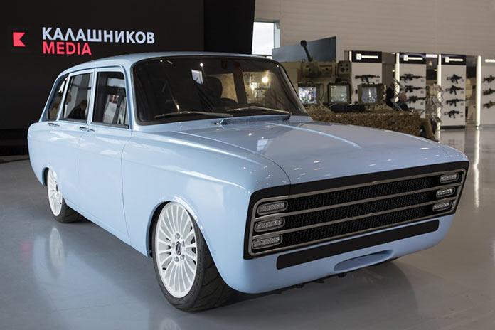 Электромобиль Калашников CV-1