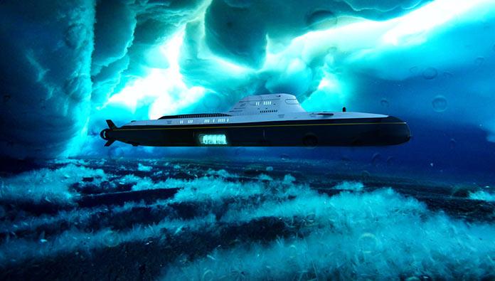 Migaloо M5 135-метровая яхта-субмарина