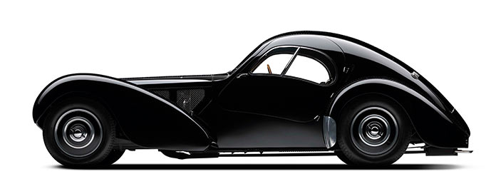 Bugatti Type 57SC Atlantic Coupe, 1938