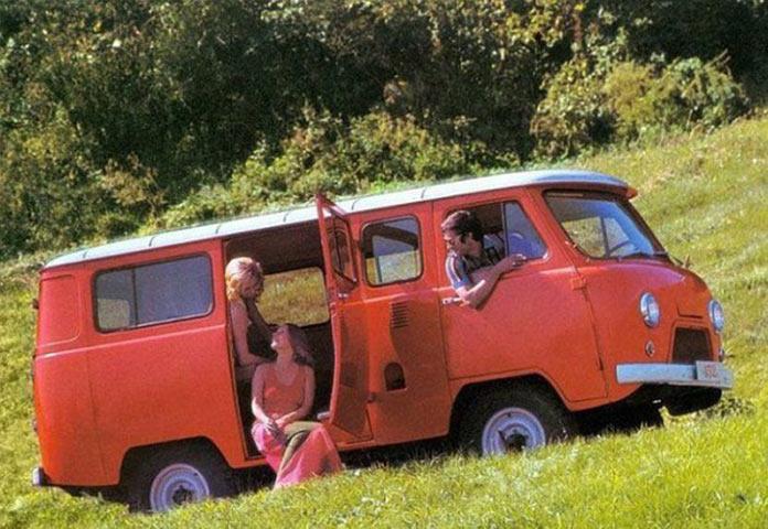 УАЗ. Реклама советских автомобилей