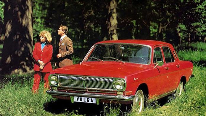 Волга ГАЗ. Реклама советских автомобилей