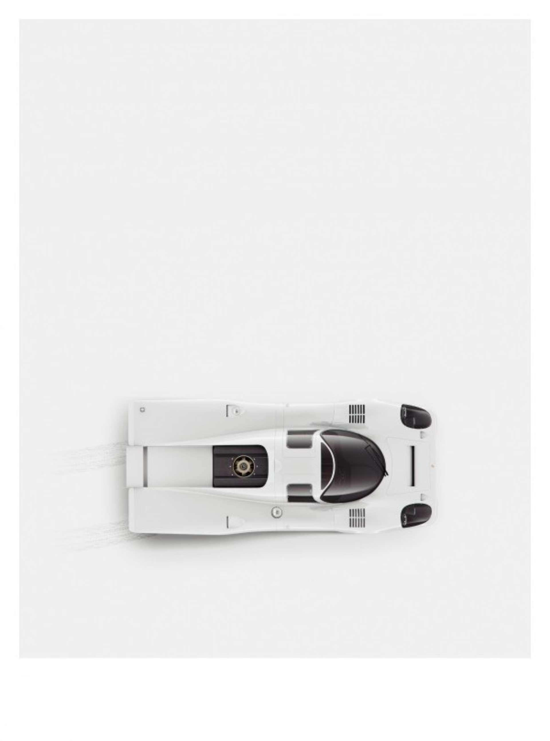 Porsche 917, минималистичный принт от We Are Ink