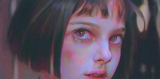 Портрет Натали Портман, цифровая акварель. Художник Янцзюнь Чен