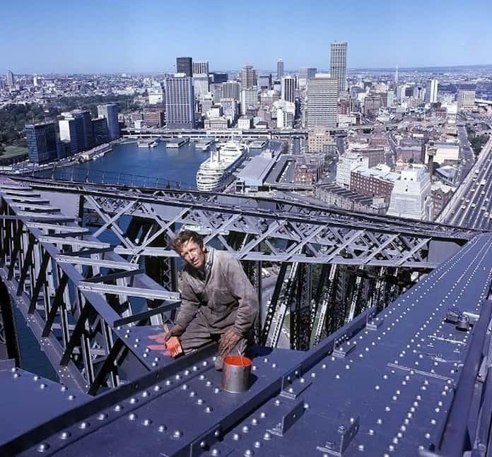 Пол Хоган, молодые кинозвезды, редкие фото